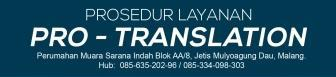 """""""Prosedur Pemesanan Jasa Penerjemah 3"""""""
