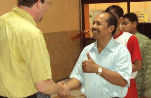 "Tim Bersama ""Mr.Hudax Hendri (USA)"""
